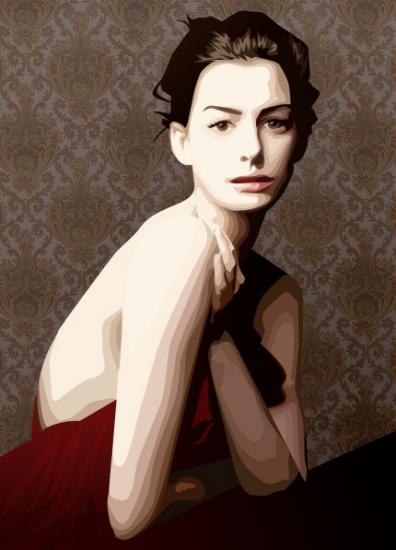 Anne Hathaway by blazinphoenix